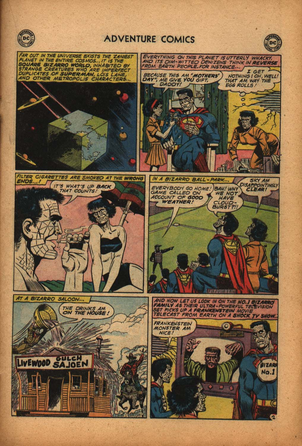 Read online Adventure Comics (1938) comic -  Issue #292 - 21