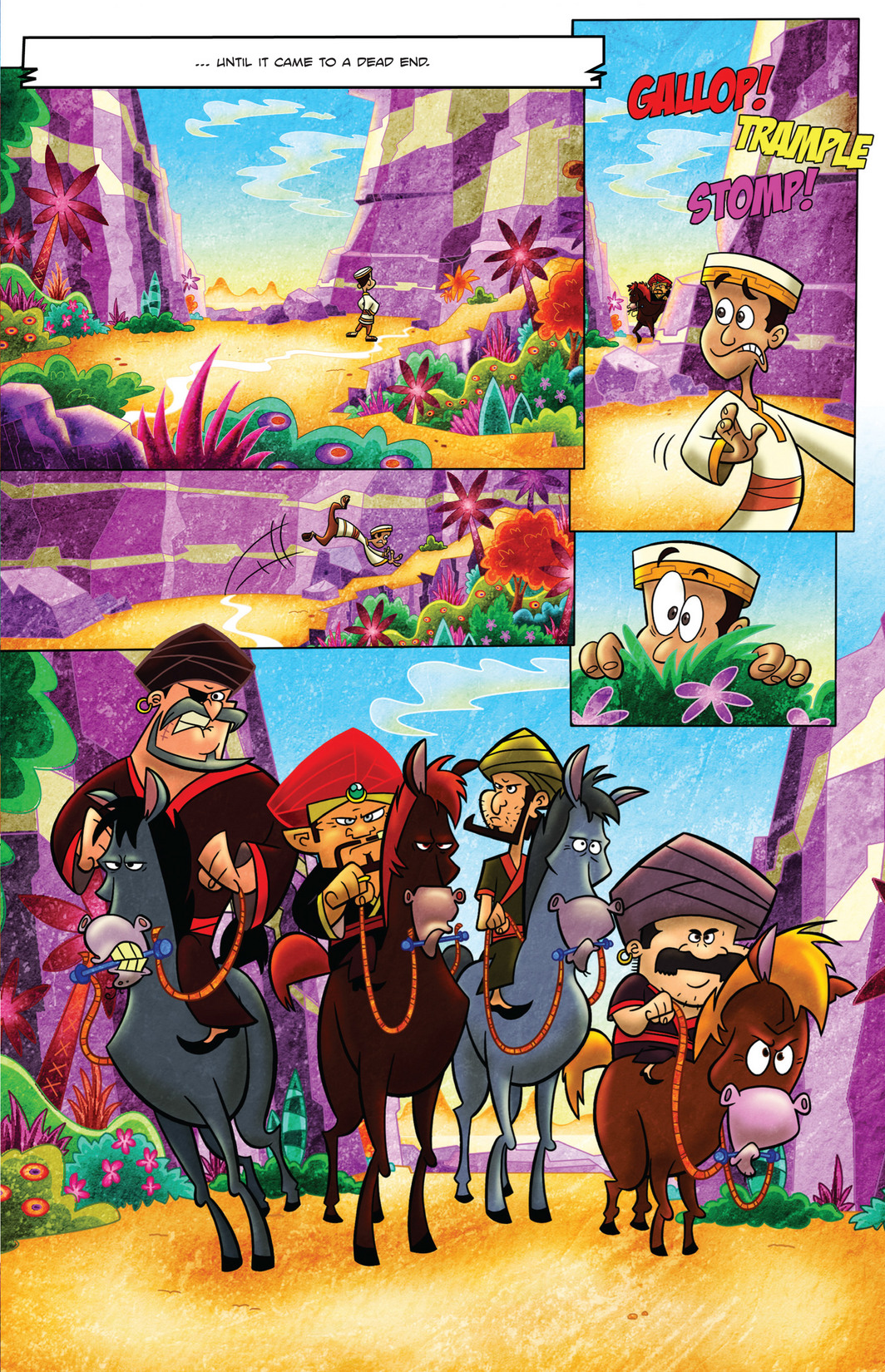 Read online 1001 Nights comic -  Issue #4 - 9