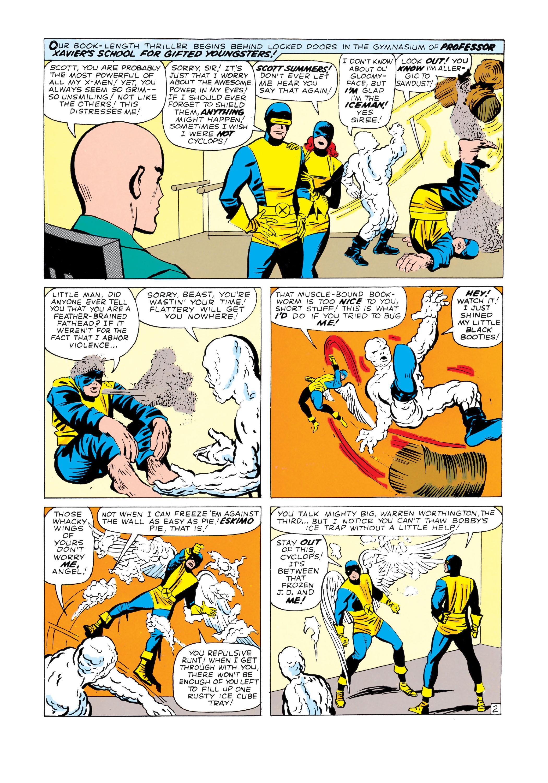 Read online Uncanny X-Men (1963) comic -  Issue #3 - 3