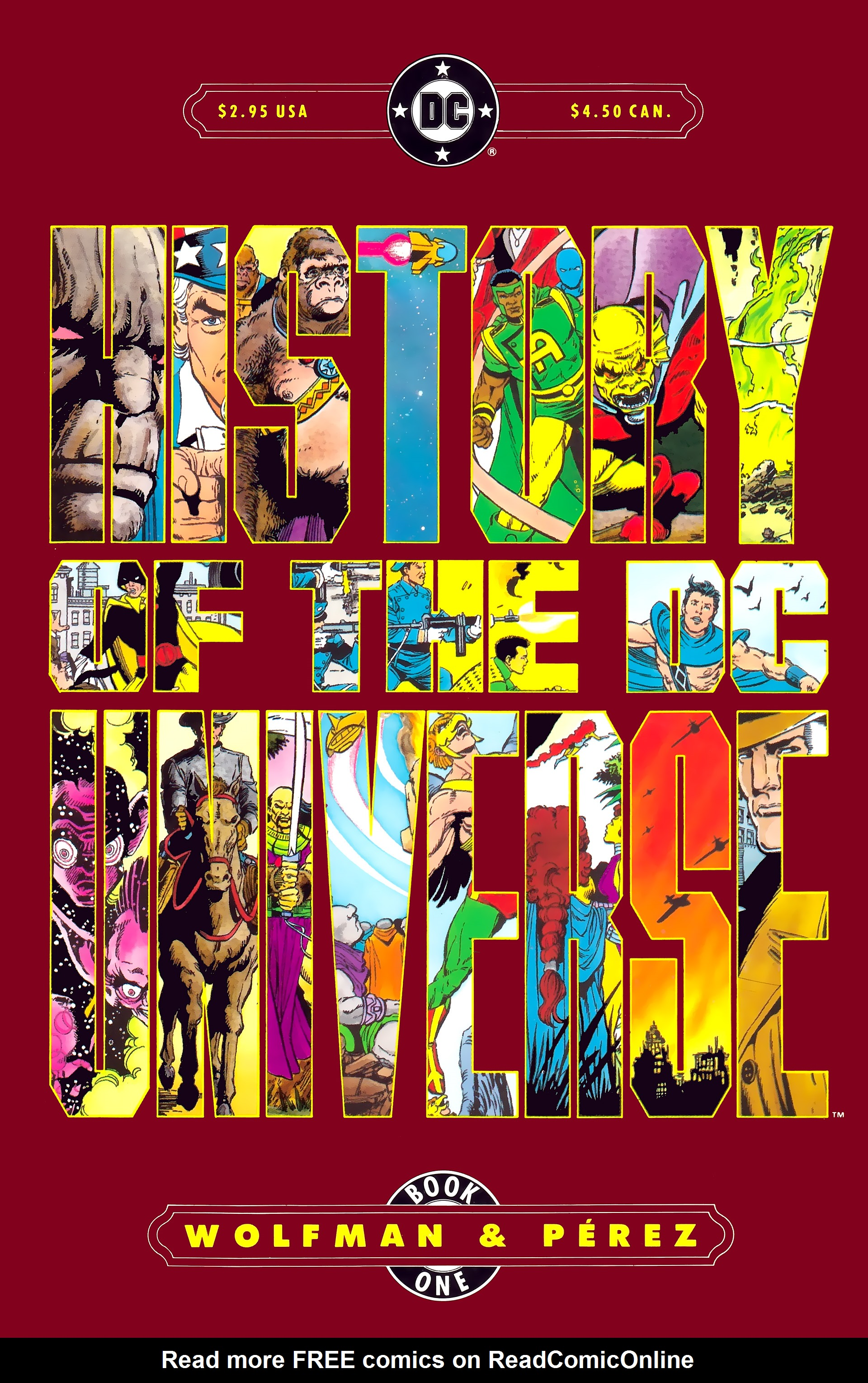 Read online History of the DC Universe comic -  Issue #1 - 1