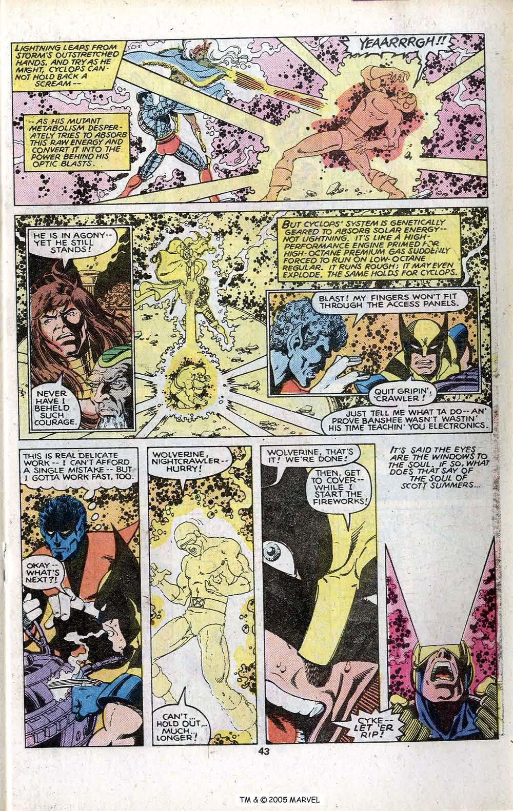 Read online Uncanny X-Men (1963) comic -  Issue # _Annual 3 - 45