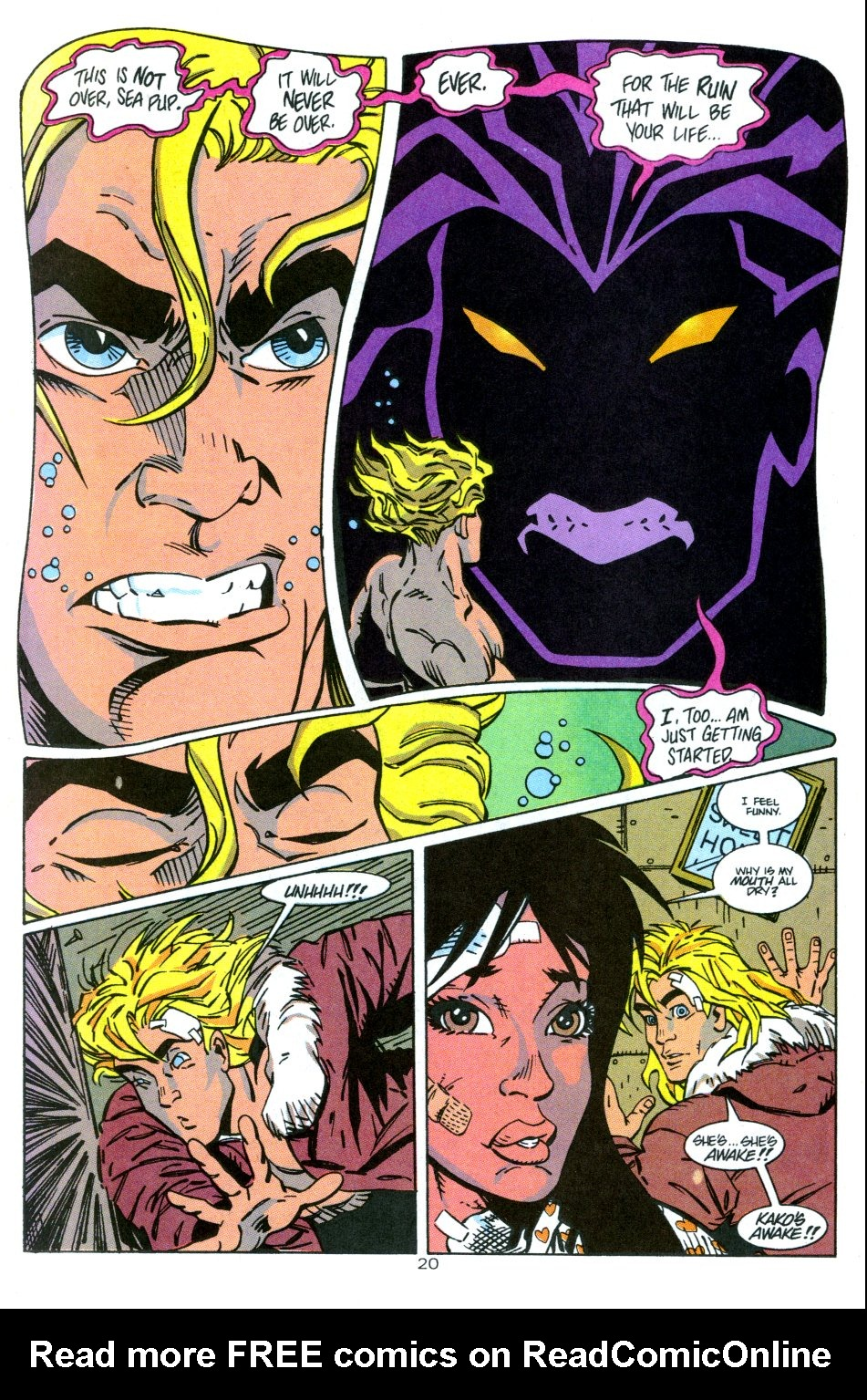 Read online Aquaman: Time and Tide comic -  Issue #3 - 21
