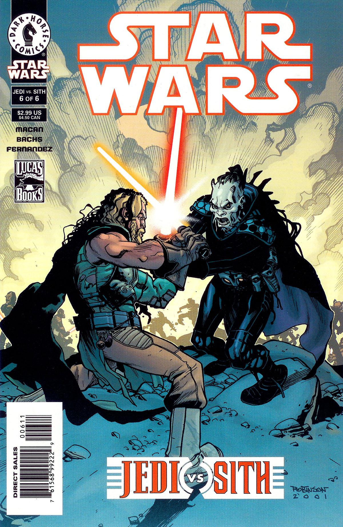 Star Wars: Jedi vs. Sith 6 Page 1
