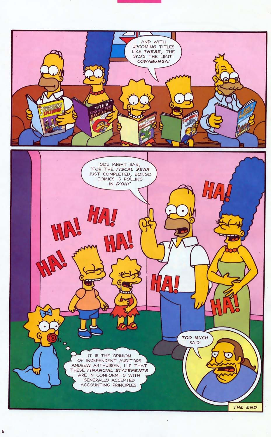 Read online Simpsons Comics comic -  Issue #85 - 28