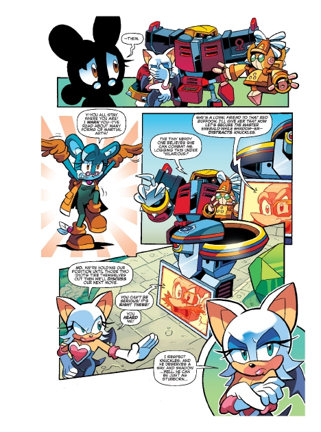 Read online Sonic Comics Spectacular: Speed of Sound comic -  Issue # Full - 217