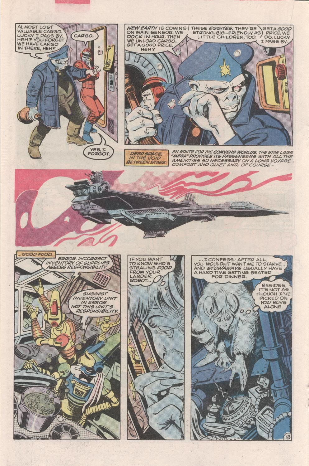 Read online Atari Force (1984) comic -  Issue #2 - 15