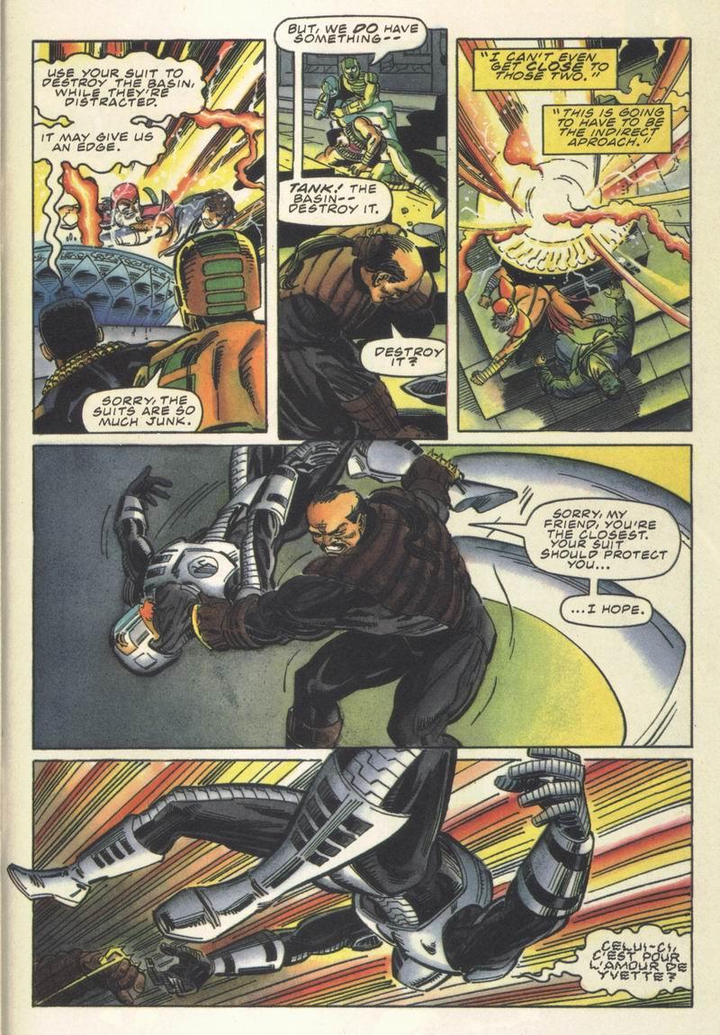 Read online Secret Weapons comic -  Issue #13 - 18