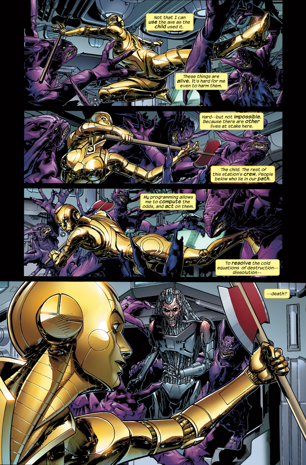 Read online Ultimate Vision comic -  Issue #3 - 13