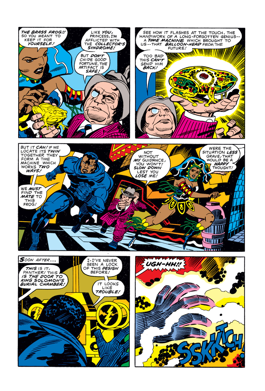 Black Panther (1977) issue 3 - Page 8