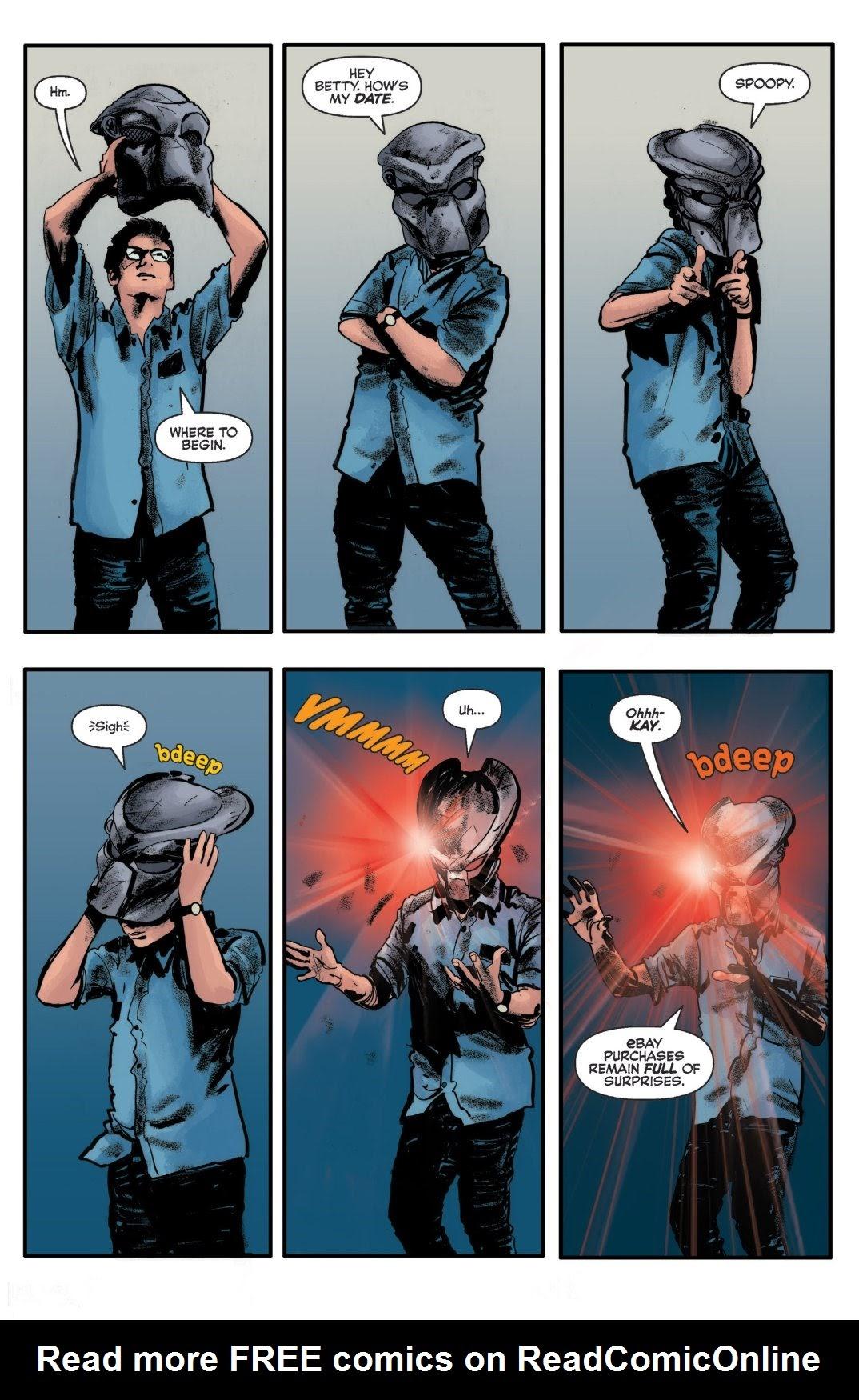Archie vs. Predator II #1 #1 - English 18