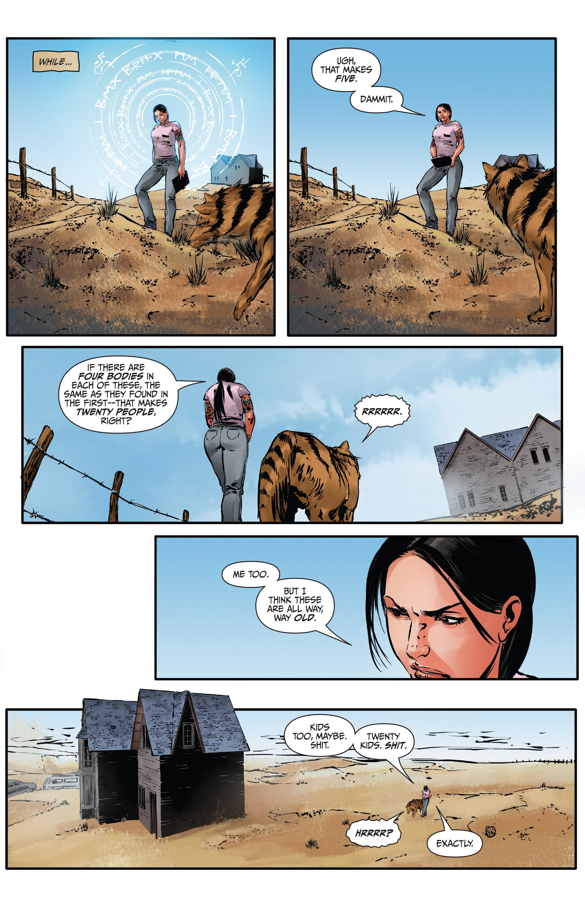 Read online Mercy Thompson comic -  Issue #3 - 13