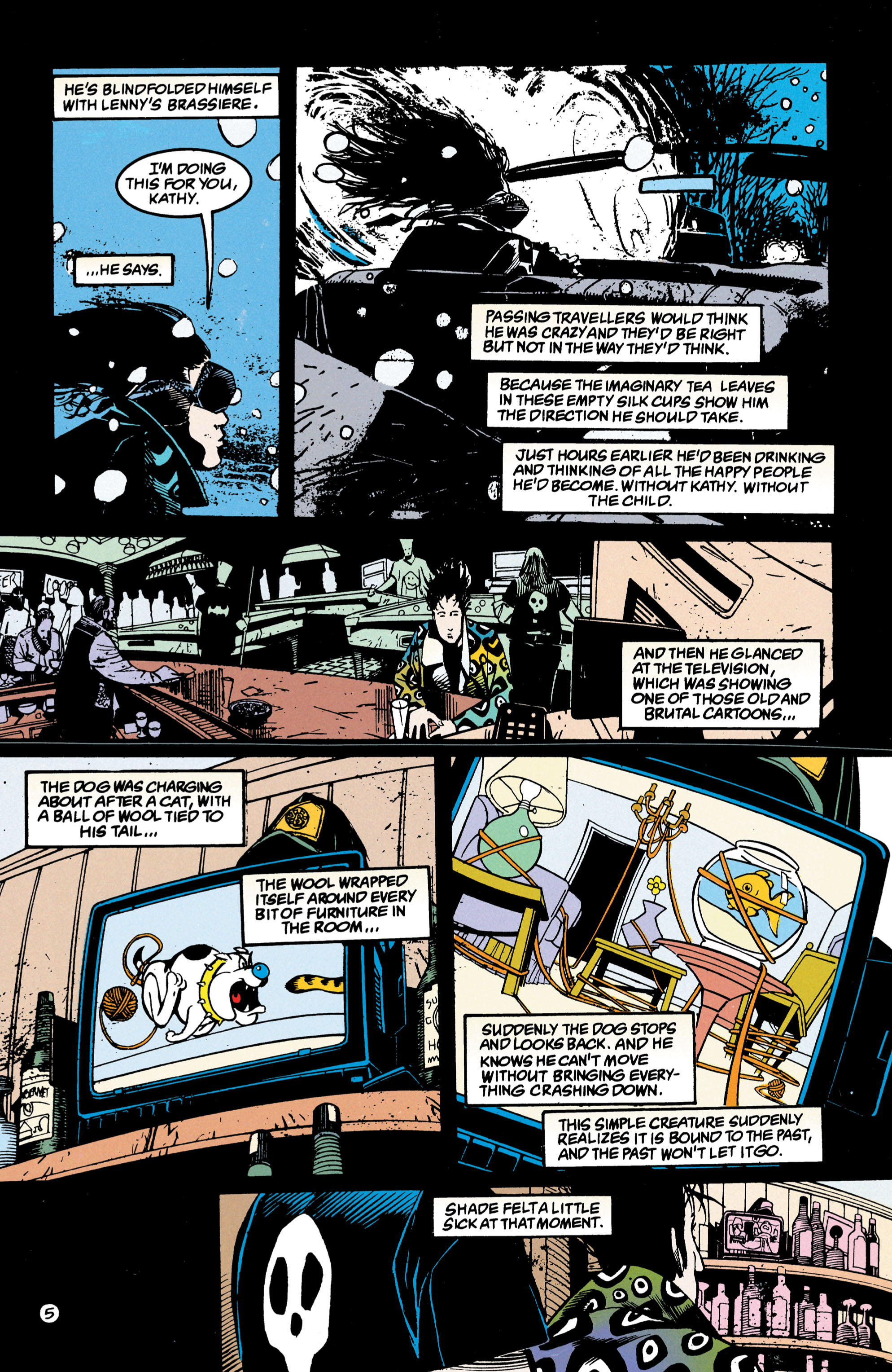 Read online Shade, the Changing Man comic -  Issue #47 - 6