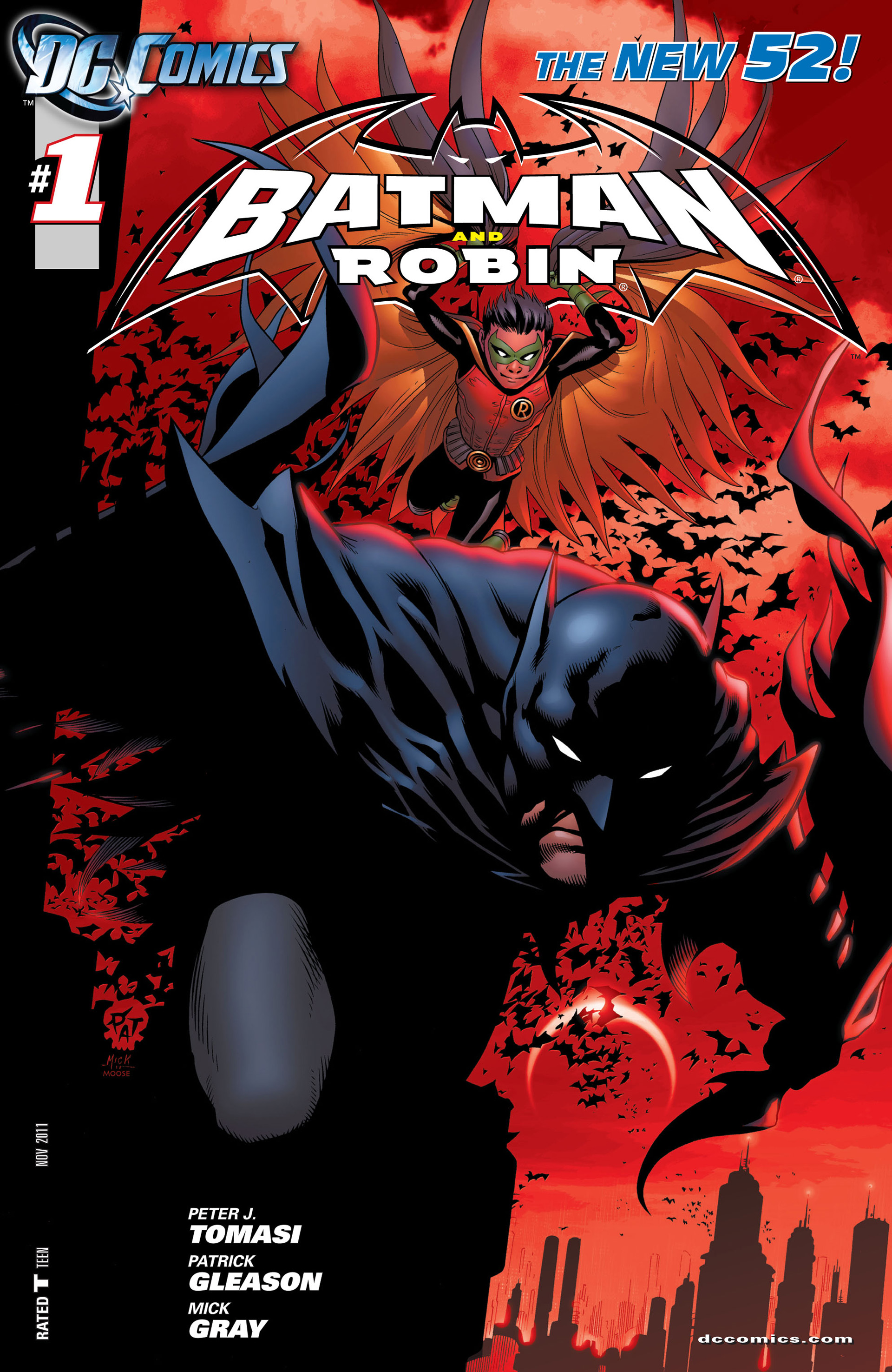 Read online Batman and Robin (2011) comic -  Issue #1 - 2