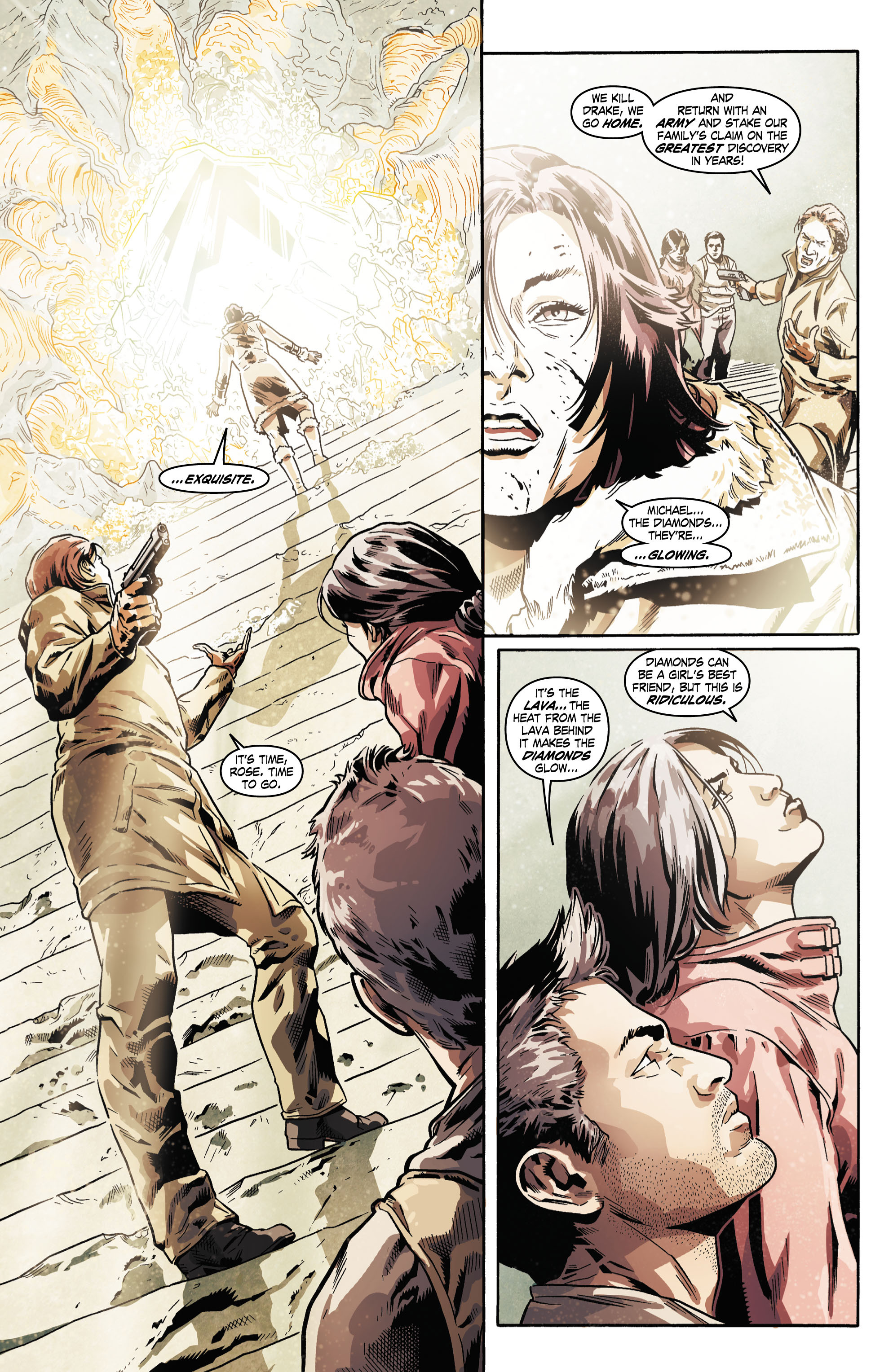 Read online Uncharted comic -  Issue #5 - 15