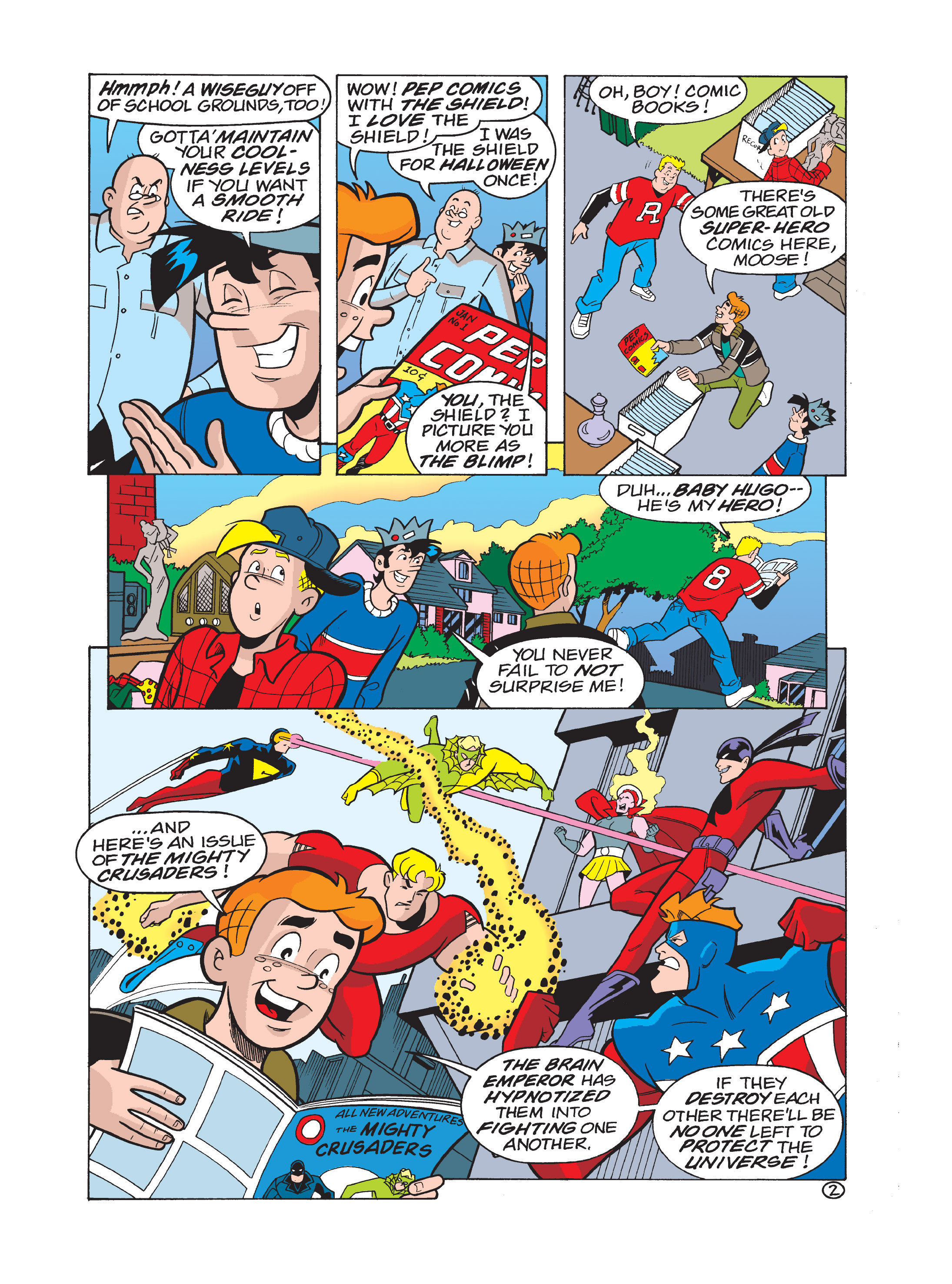 Read online Archie 75th Anniversary Digest comic -  Issue #1 - 118