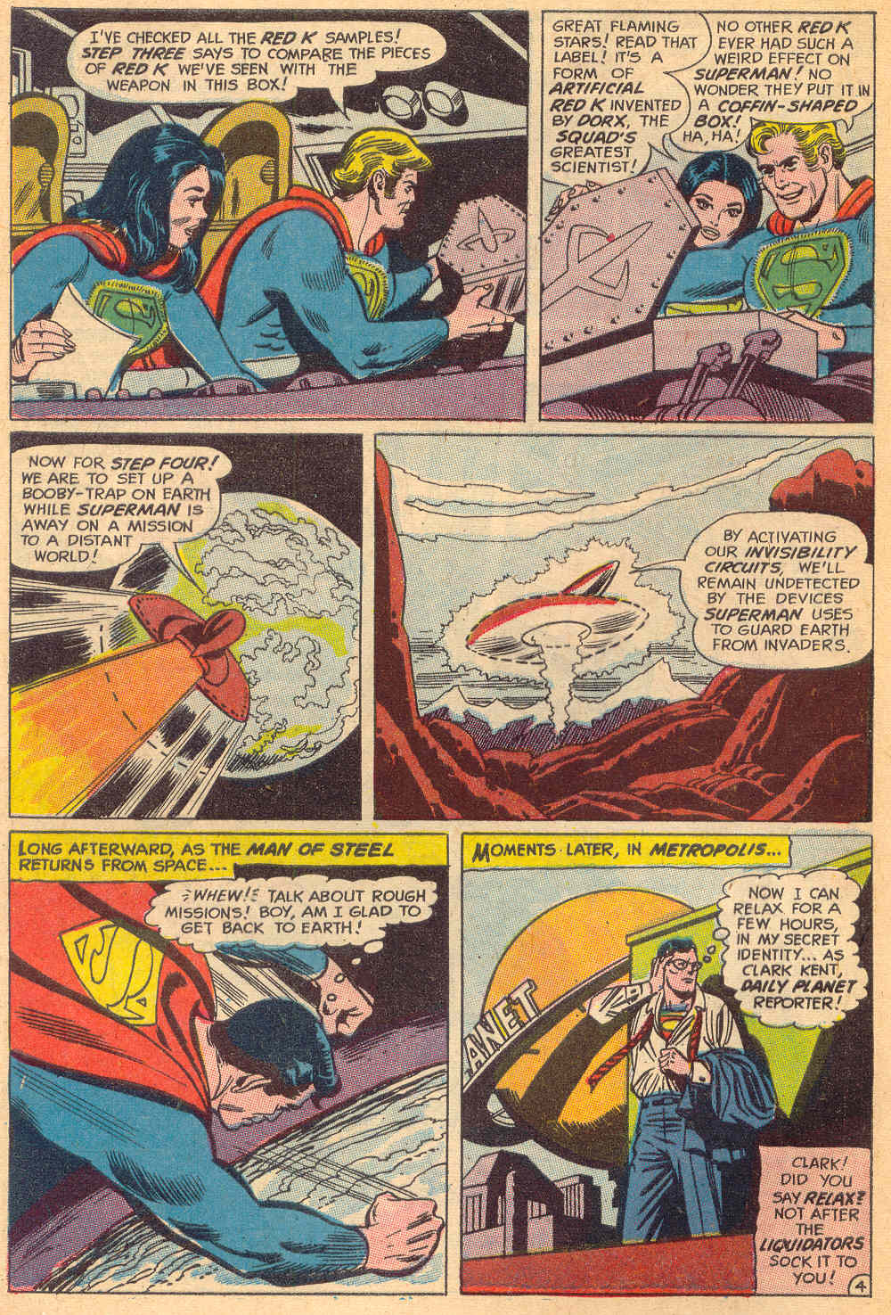 Read online Action Comics (1938) comic -  Issue #380 - 6