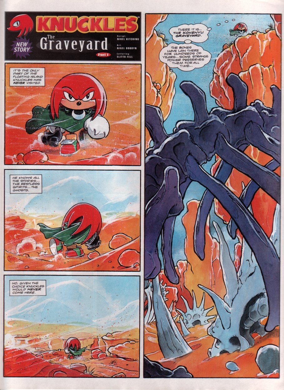 Read online Sonic the Comic comic -  Issue #69 - 17