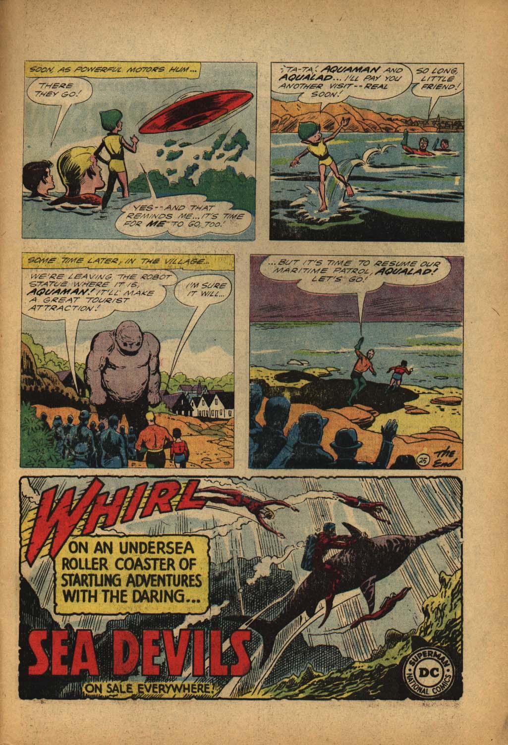 Read online Aquaman (1962) comic -  Issue #4 - 33