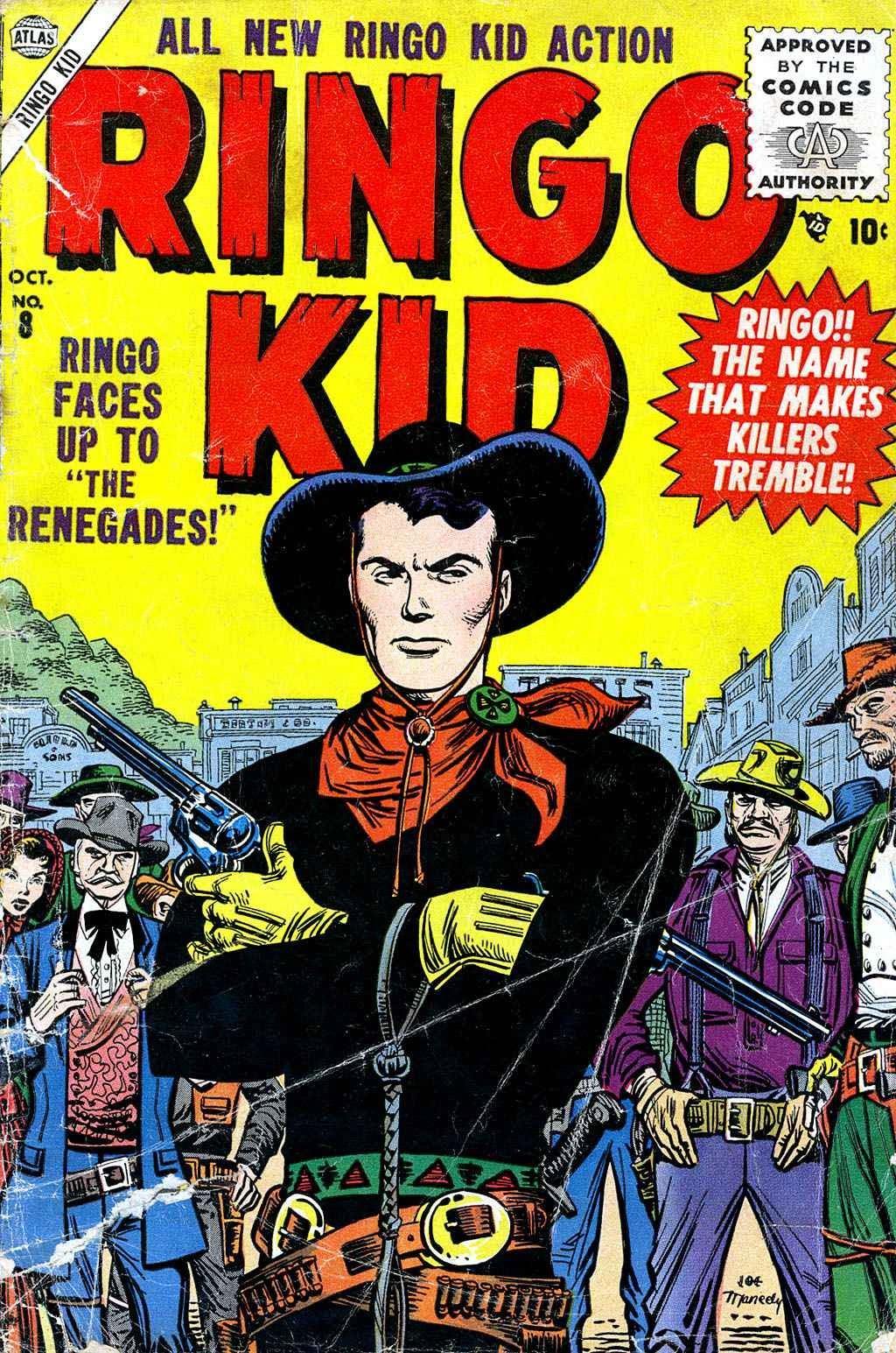 Ringo Kid 8 Page 1
