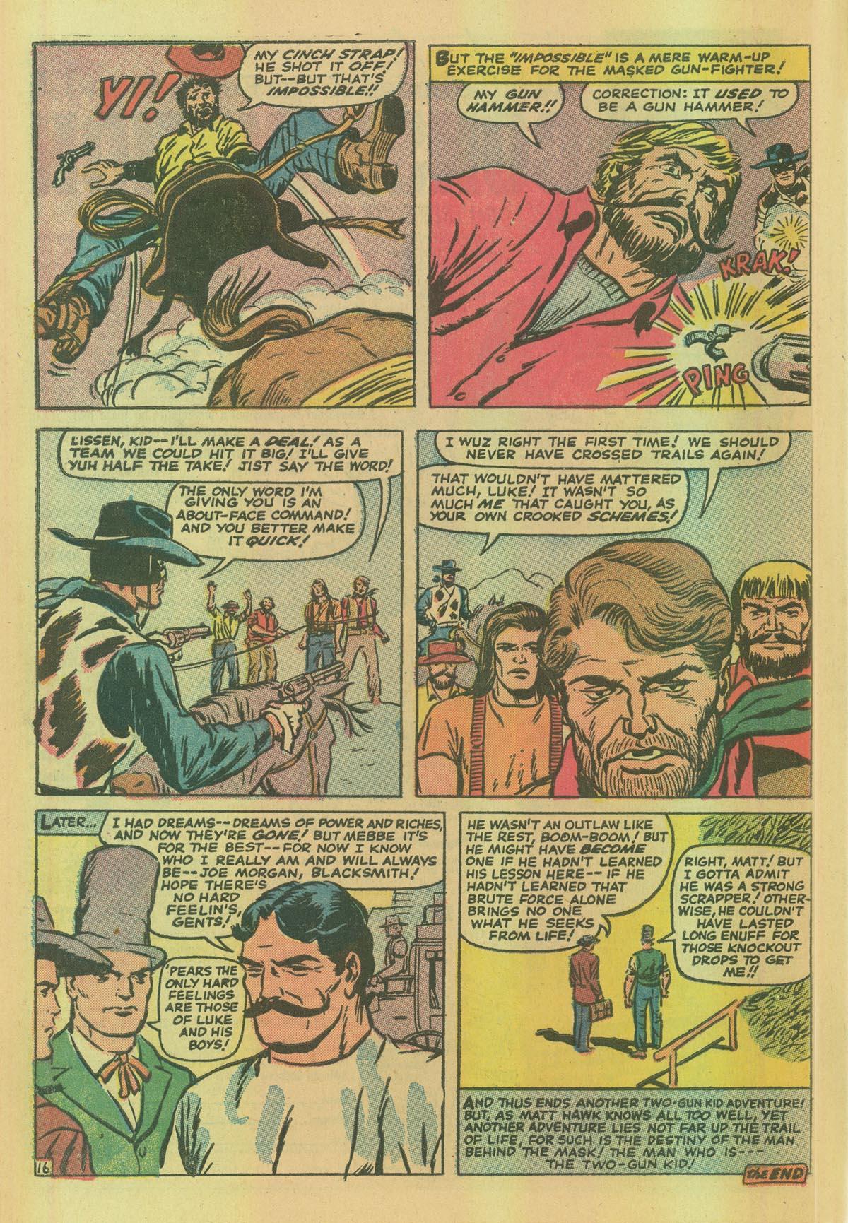Read online Two-Gun Kid comic -  Issue #114 - 28