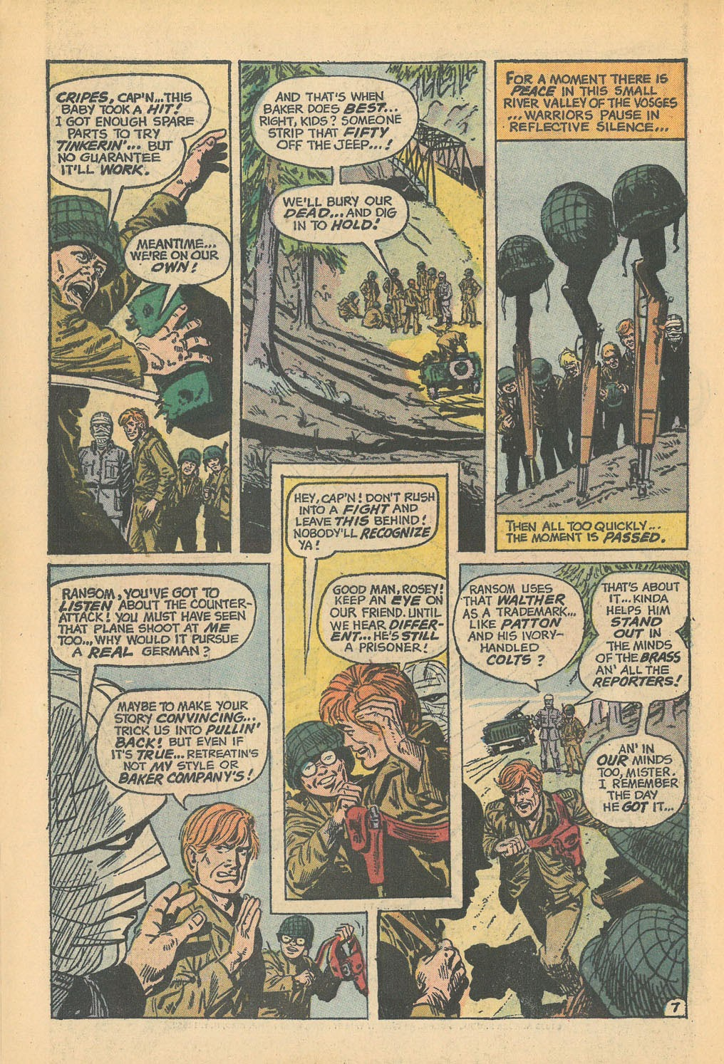 Read online Star Spangled War Stories (1952) comic -  Issue #168 - 10