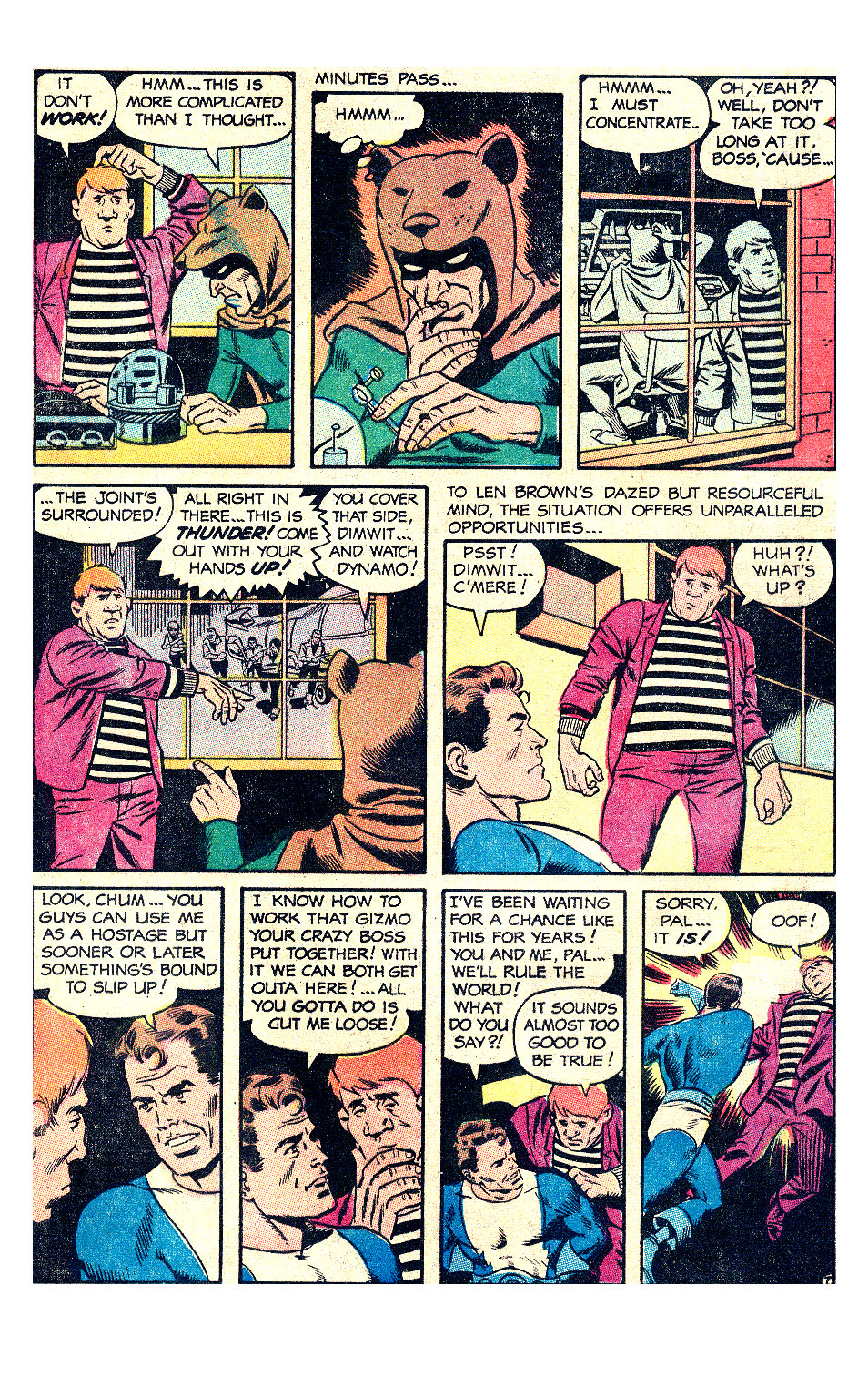 T.H.U.N.D.E.R. Agents (1965) issue 17 - Page 12