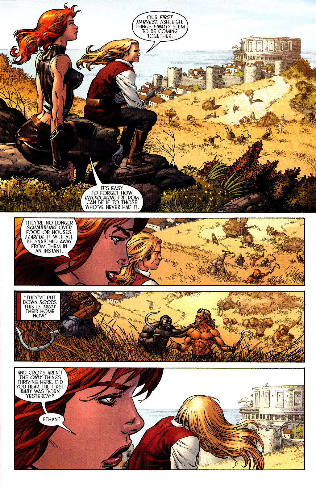 Read online Scion comic -  Issue #40 - 6