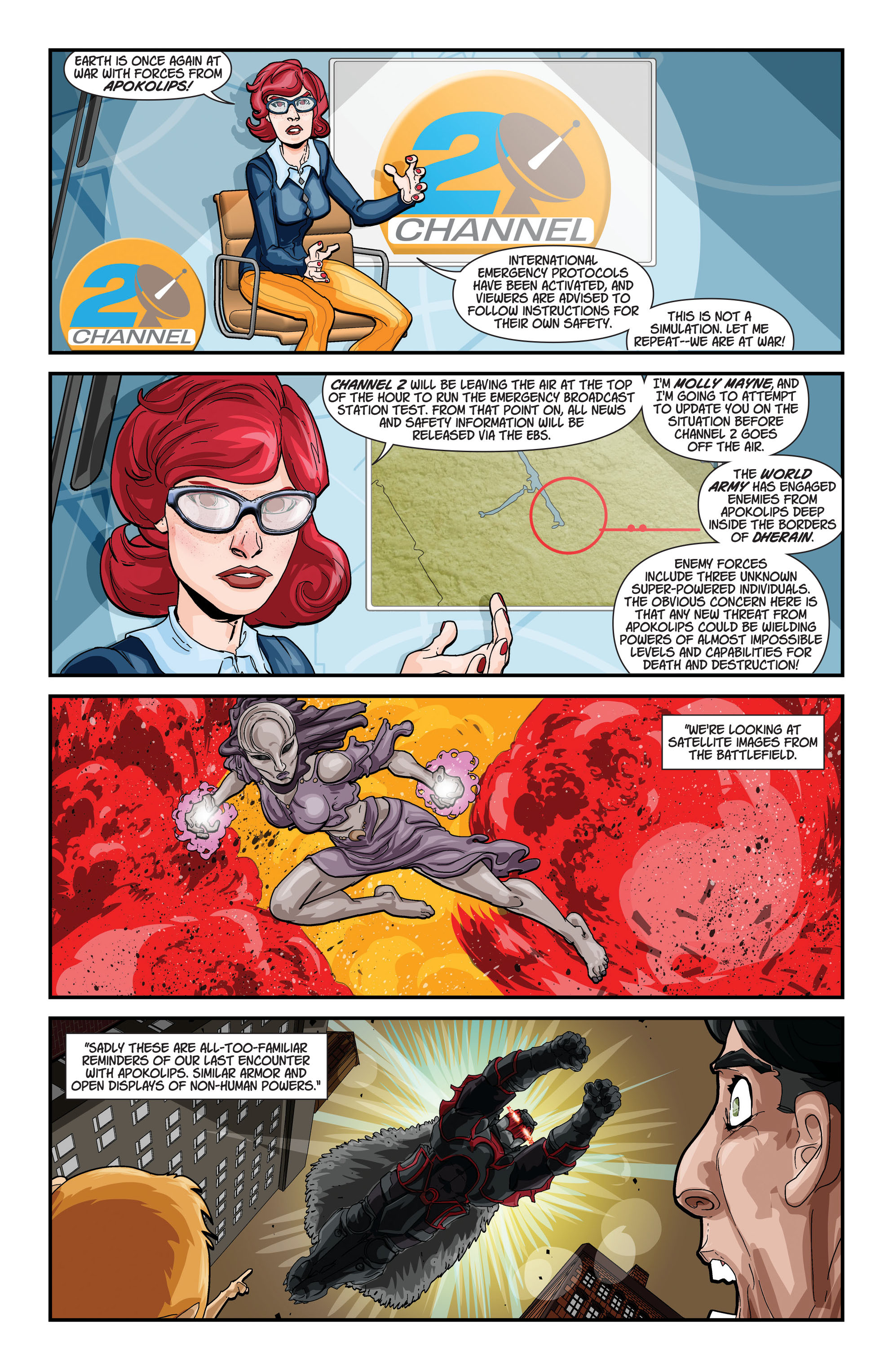 Read online Action Comics (2011) comic -  Issue #22 - 26