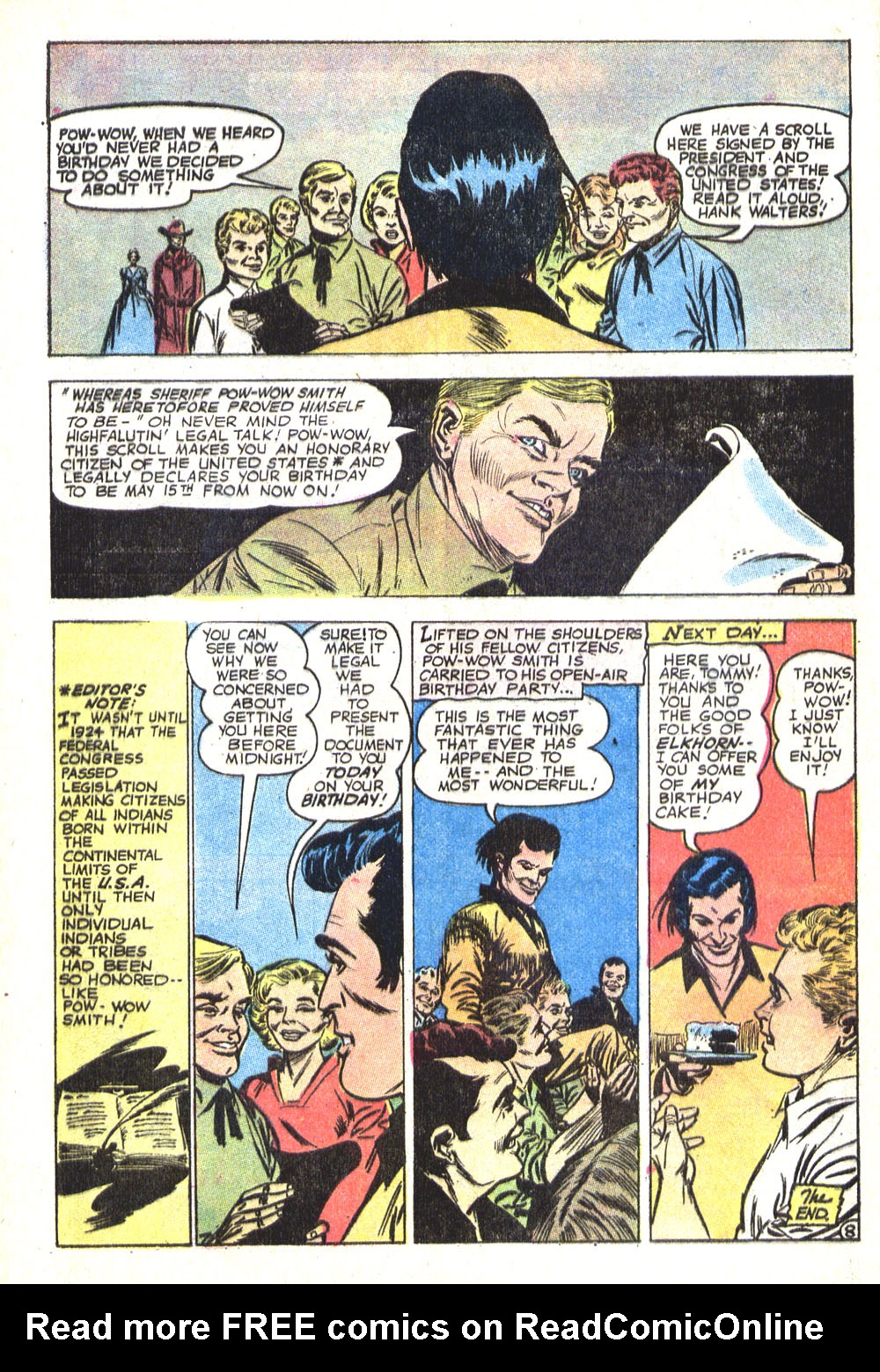 Read online All-Star Western (1970) comic -  Issue #8 - 36