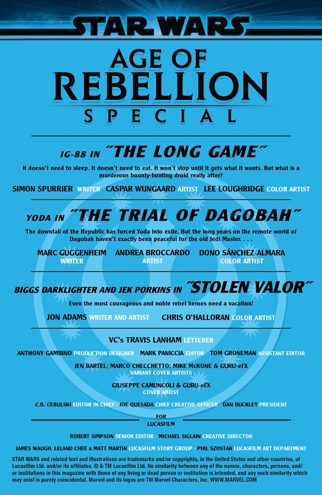 Read online Star Wars: Age of Rebellion Special comic -  Issue # Full - 2