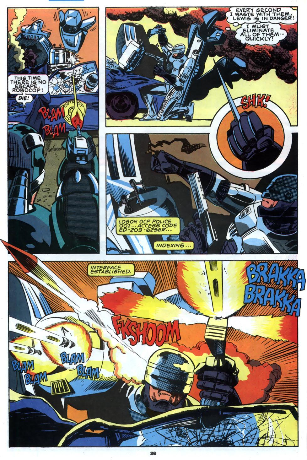 Read online Robocop (1990) comic -  Issue #2 - 21