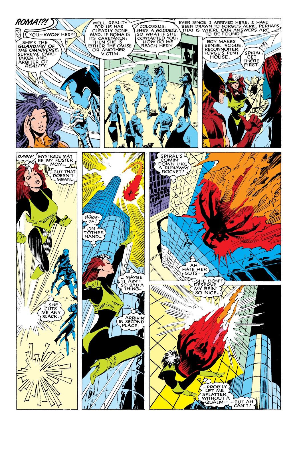 Read online X-Men Milestones: Fall of the Mutants comic -  Issue # TPB (Part 1) - 55