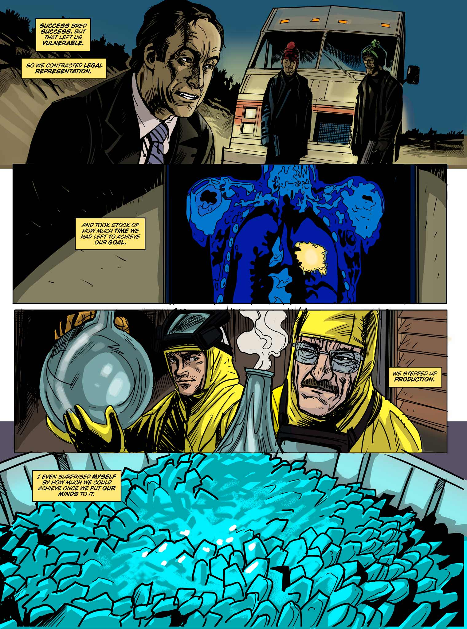 Read online Breaking Bad: All Bad Things comic -  Issue # Full - 7