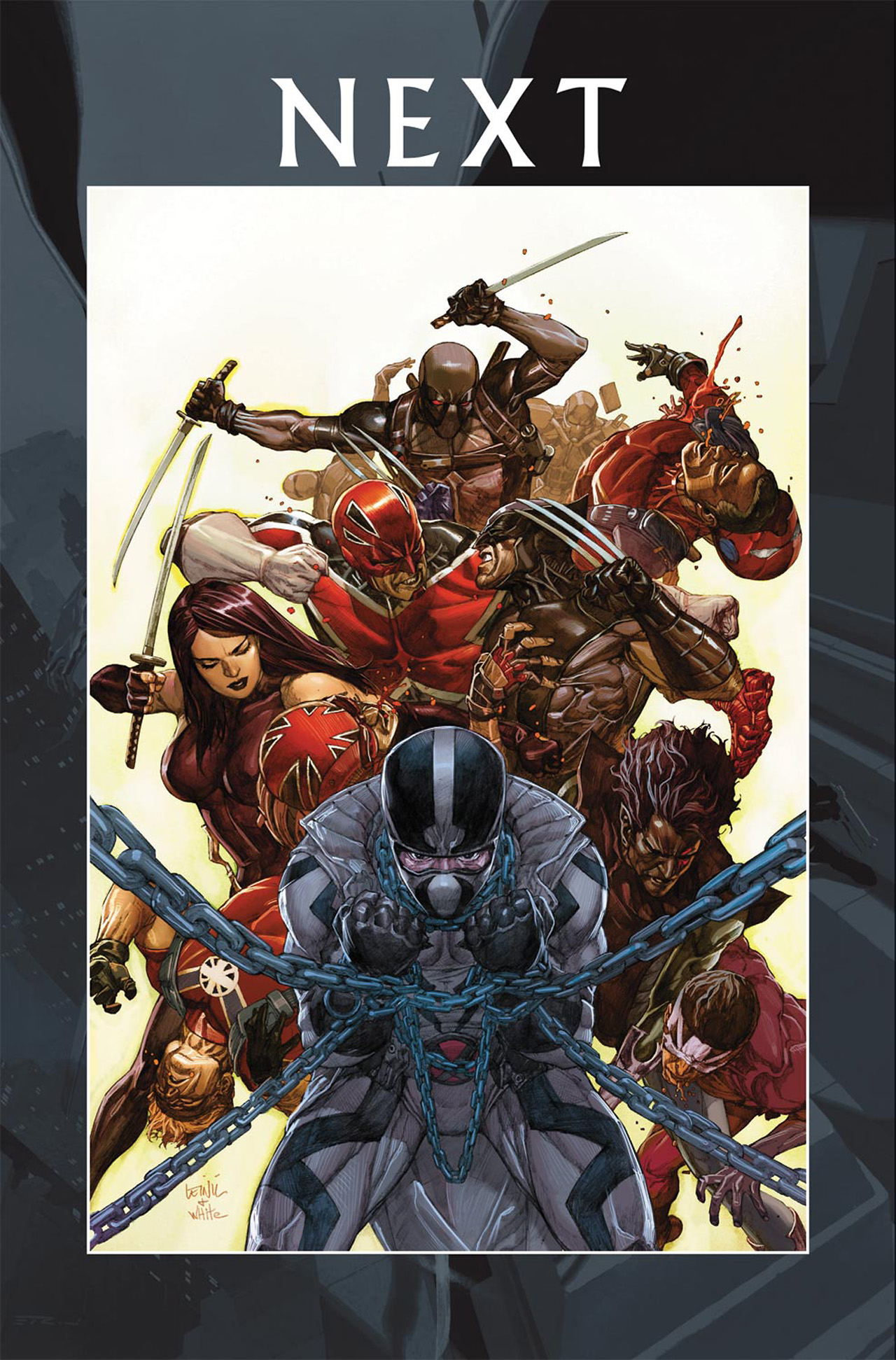 Read online Uncanny X-Force (2010) comic -  Issue #19 - 23