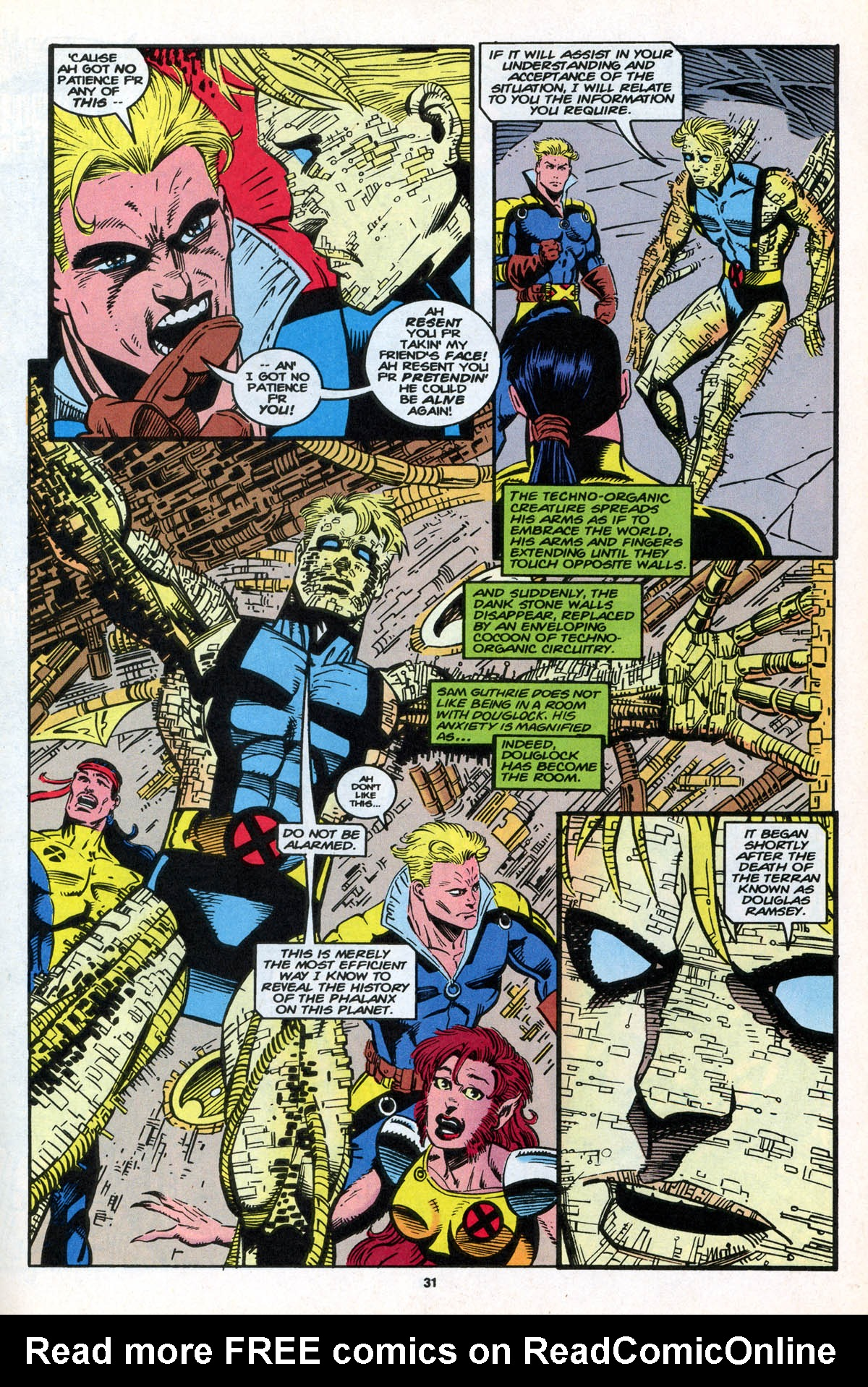Read online X-Factor (1986) comic -  Issue #106 - 32