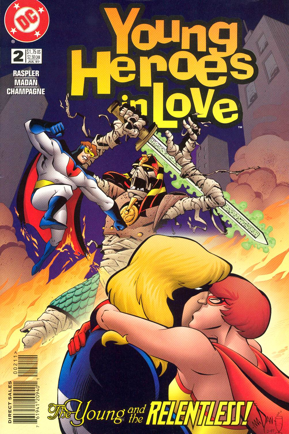 Young Heroes in Love issue 2 - Page 1