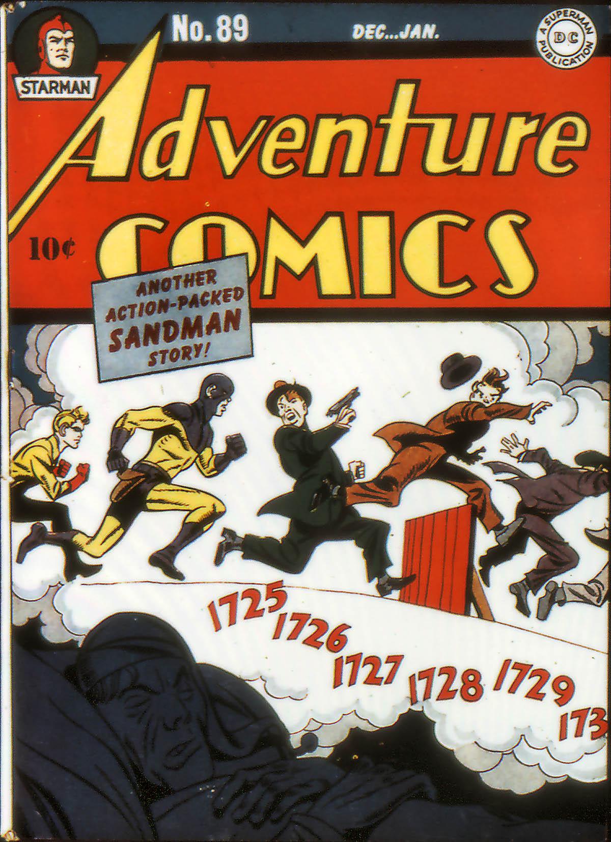 Read online Adventure Comics (1938) comic -  Issue #89 - 1