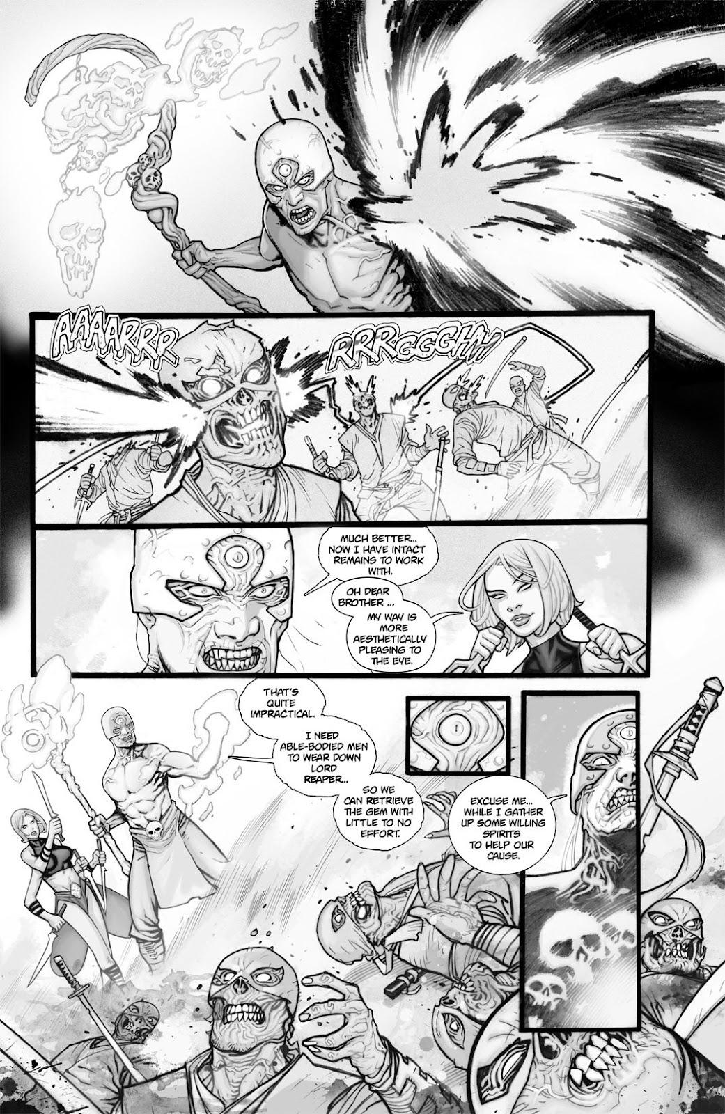 Read online Reaper comic -  Issue #2 - 13