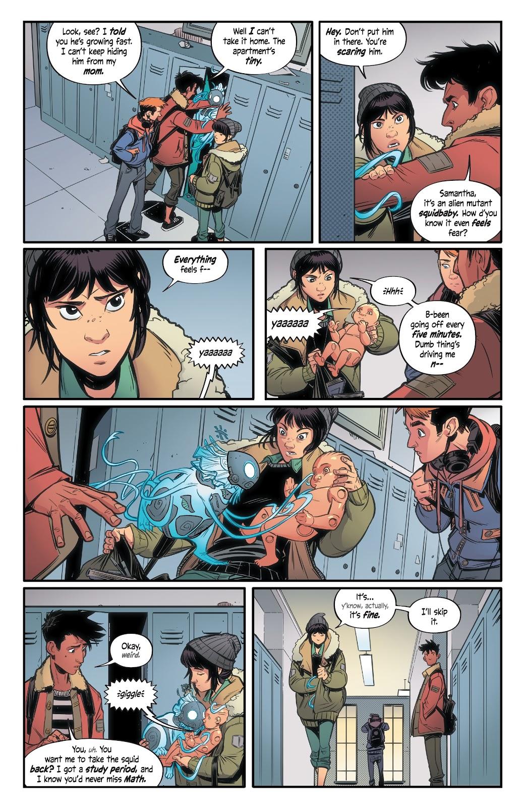 Read online Alienated comic -  Issue #2 - 13