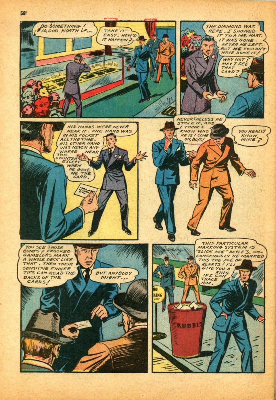 Read online Super-Magician Comics comic -  Issue #12 - 58