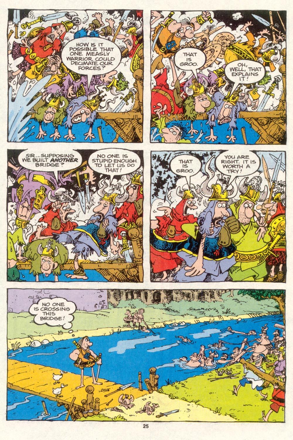 Read online Sergio Aragonés Groo the Wanderer comic -  Issue #86 - 20