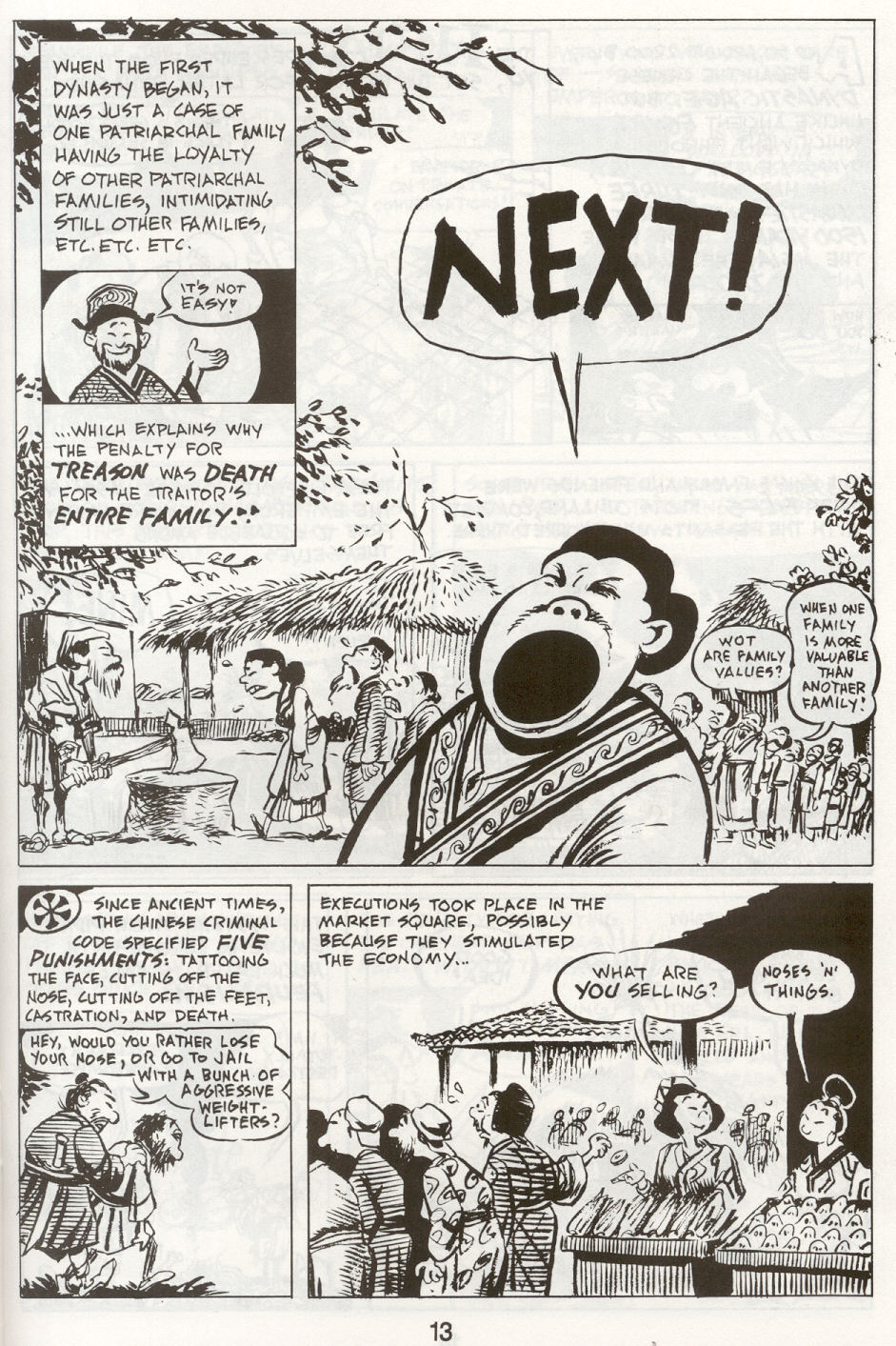 Read online The Cartoon History of the Universe comic -  Issue #9 - 16