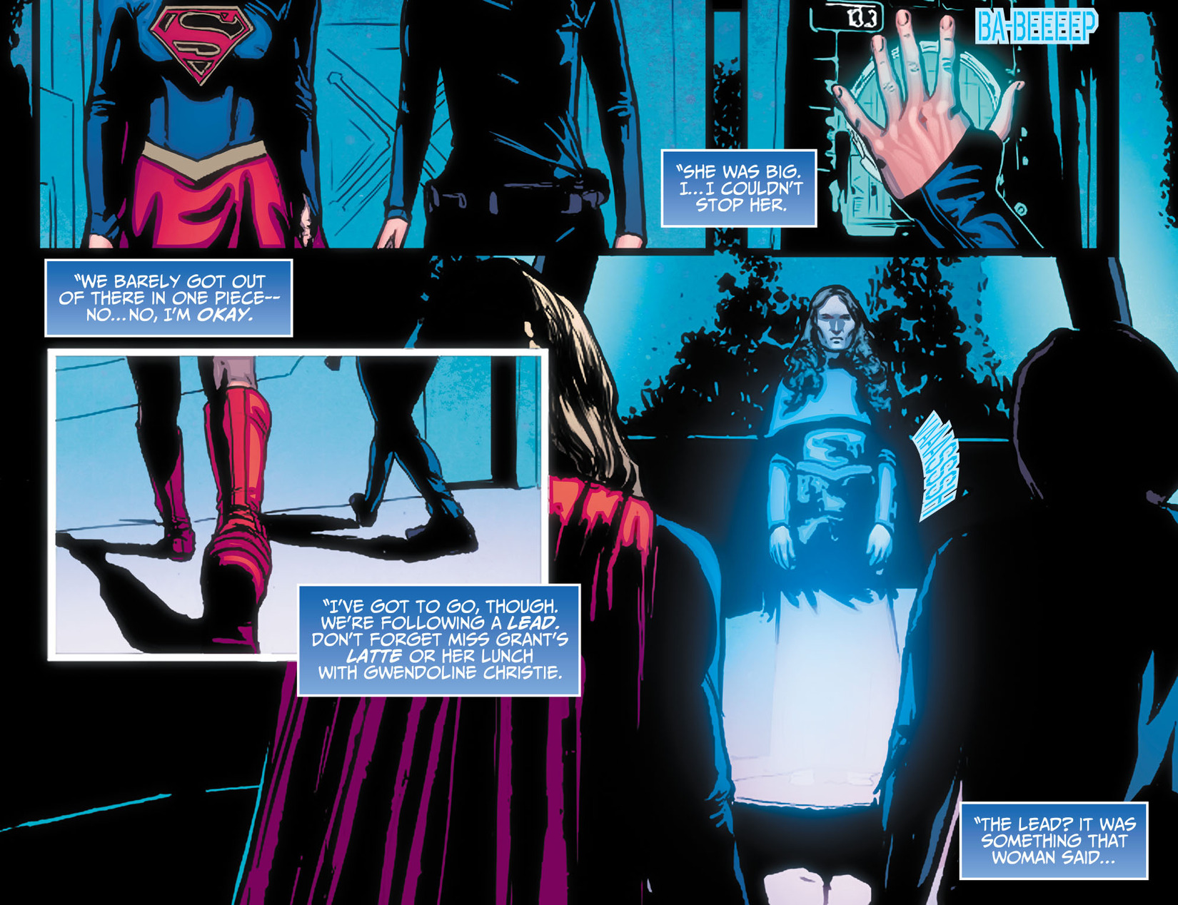 Read online Adventures of Supergirl comic -  Issue #10 - 4