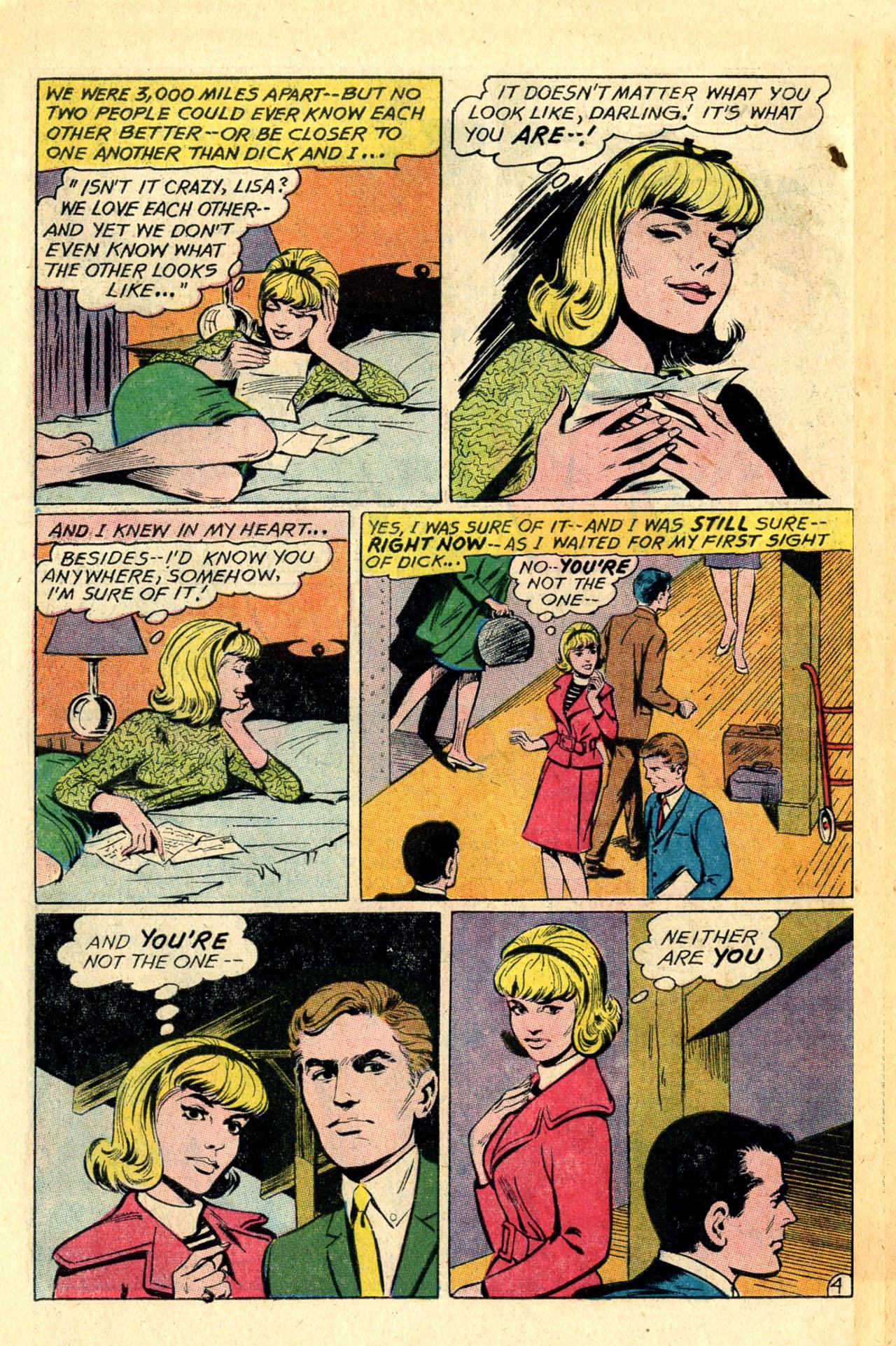 Read online Secret Hearts comic -  Issue #118 - 6