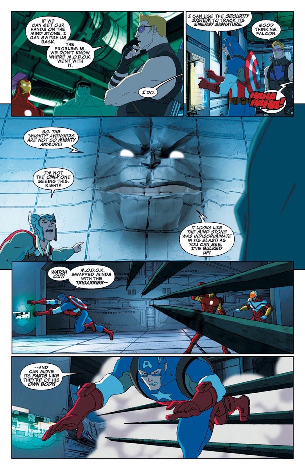 Read online Marvel Universe Avengers Assemble Season 2 comic -  Issue #8 - 19
