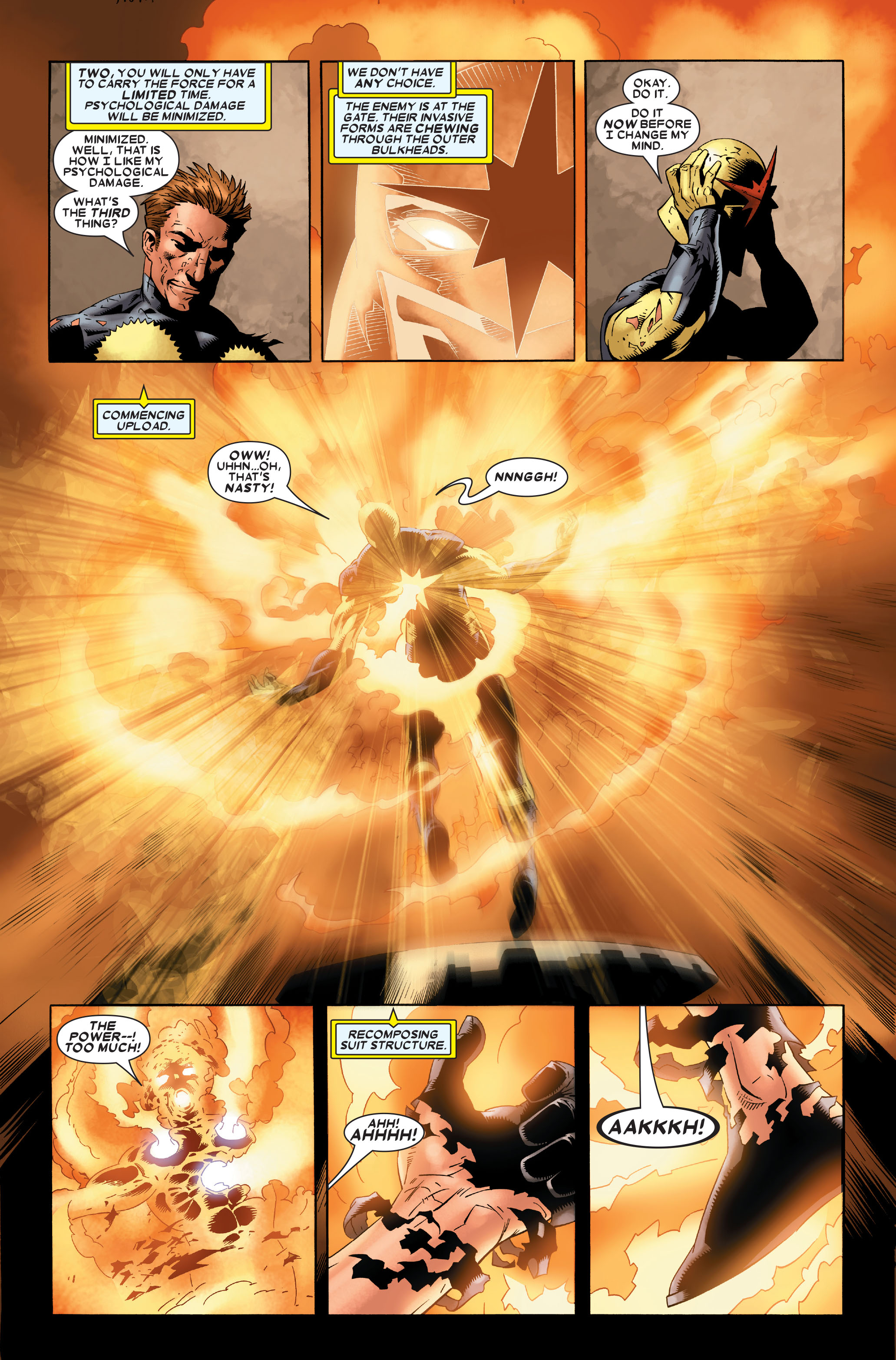 Read online Annihilation: Nova comic -  Issue #1 - 16