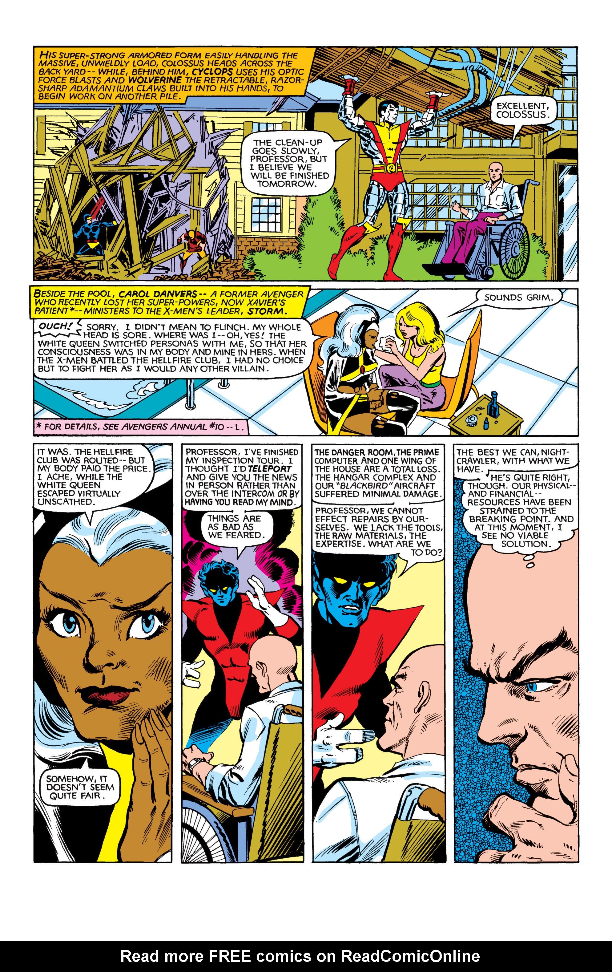 Read online Uncanny X-Men (1963) comic -  Issue #153 - 3