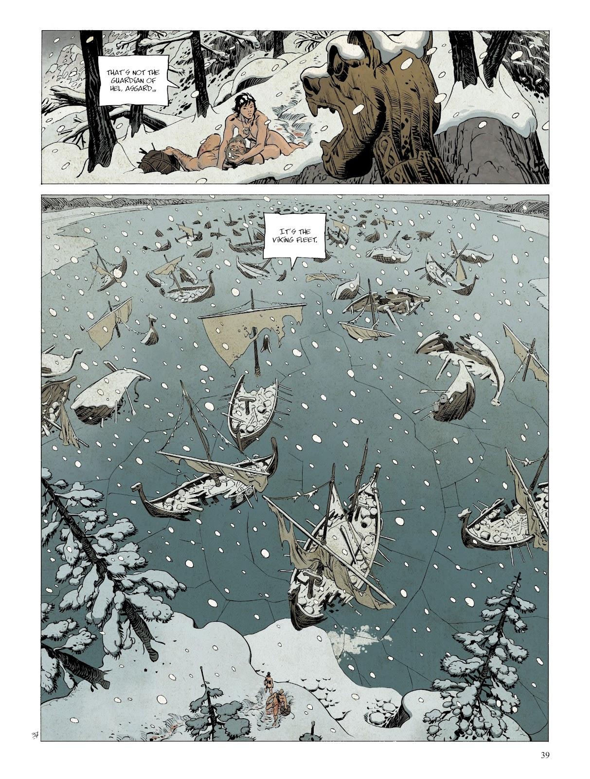 Read online Asgard comic -  Issue #2 - 41