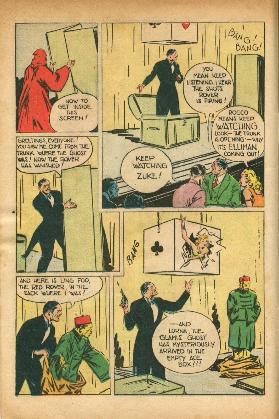 Read online Super-Magician Comics comic -  Issue #51 - 6