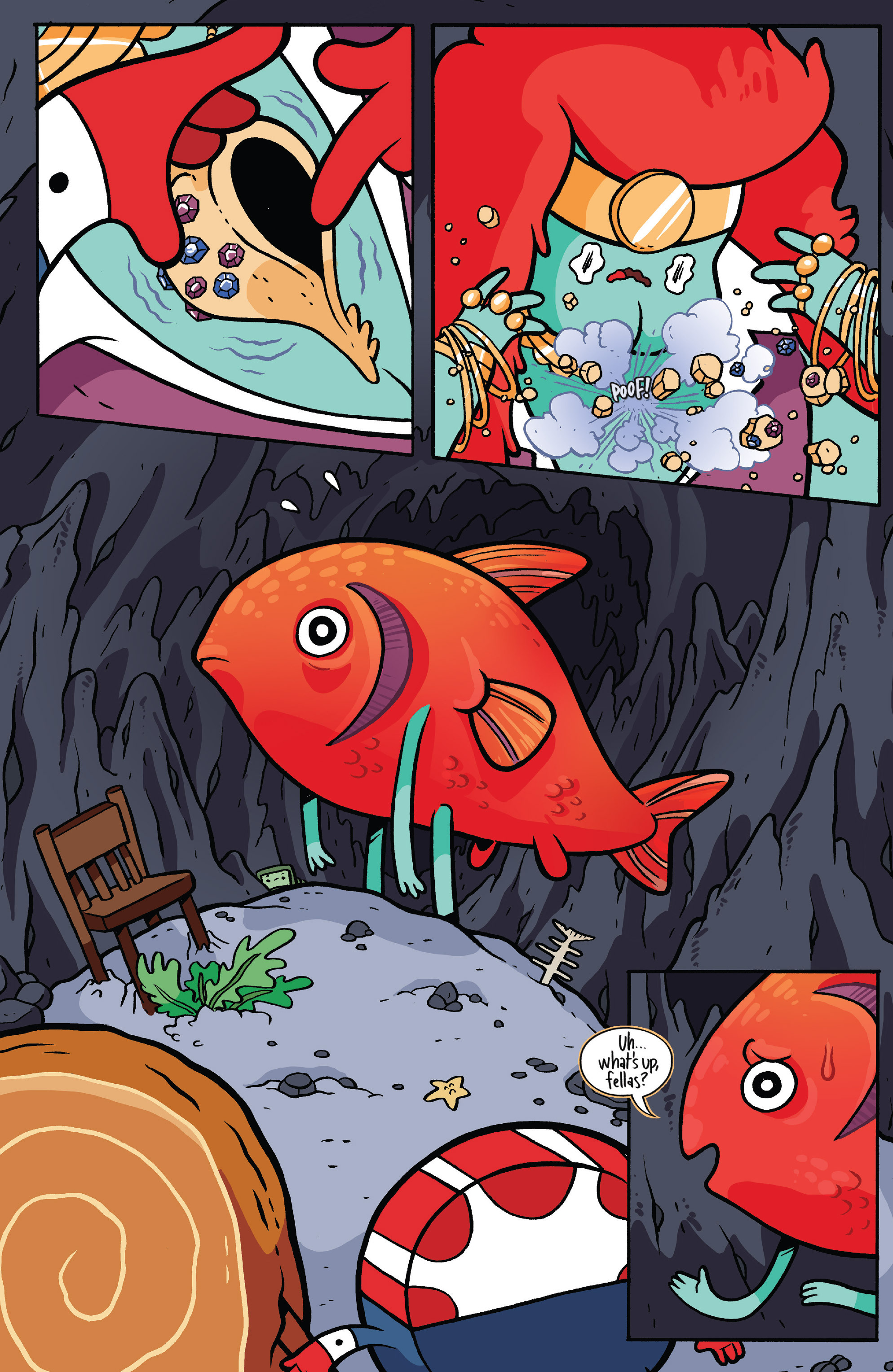 Read online Adventure Time: Candy Capers comic -  Issue #5 - 17
